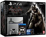 PS4 Steel Grey + Batman Arkham Knight [Bundle Limited] [Importación Italiana]