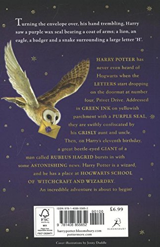 Image of Harry Potter and the Philosopher's Stone: 1/7 (Harry Potter 1)