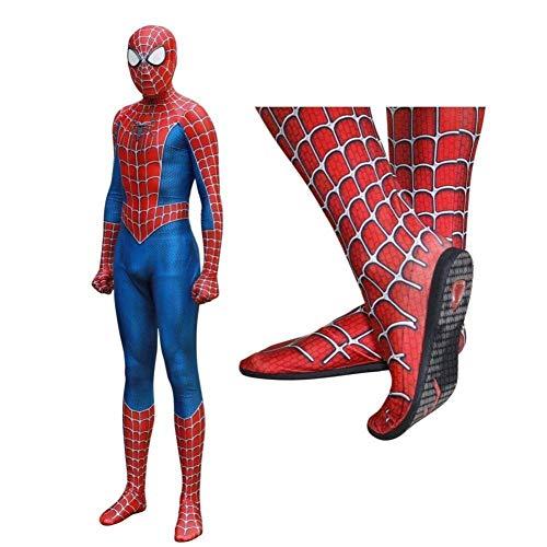Spiderman Cosplay Kostüm Einfügen Objektiv Maske Erwachsene Halloween Kostüm Partei Kostüm Requisiten Avengers Eisen Siamesische Strumpfhose,Woman-S