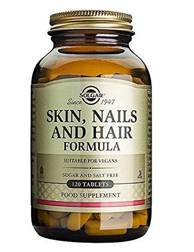 Solgar Comprimidos para Pelo, Piel y Uñas, Vitamina C para la formación de colágeno,...