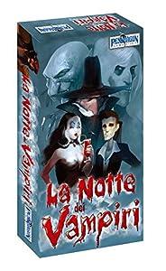 Asmodee Italia-La Noche de los Vampiri Juego de Cartas en Italiano Pendragon Games Studio, Color, 0540