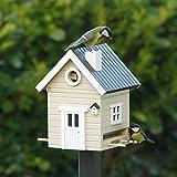 Wildlife Garden - Vogelhaus - Nistkasten Farbe : Beige 184 x 194 x 247