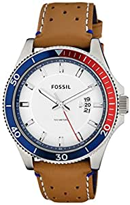 Fossil End of Season Wakefield Analog White Dial Men's Watch - FS5054