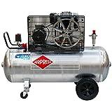 Airpress® ölgeschmierter Druckluft-Kompressor GK 700-200 (4 kW, 11 bar,270l Kessel, 400 Volt) großer Kolben-Kompressor