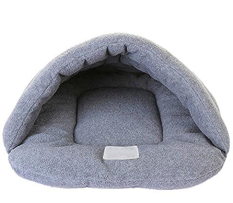 Sac de couchage entièrement forme Tapis de Luxe pet beds Cave Cozy chaud maison autocollant sac chauffant pour chiens chats