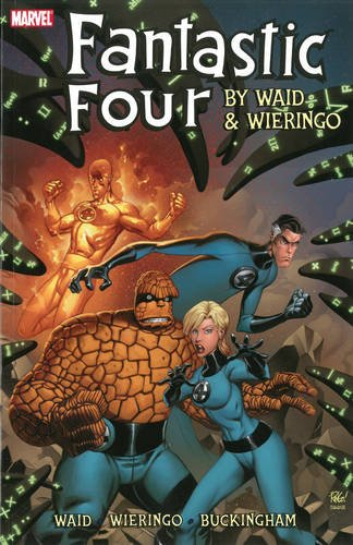 FANTASTIC FOUR BY WAID & WIERINGO ULT COLL BOOK 01