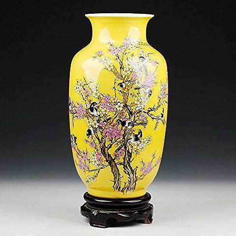Loopsd Porcellana giallo moderno soggiorno decorato con le Arti Decorative