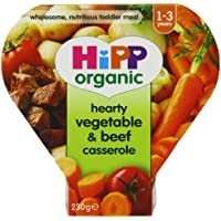 Hipp Organic Hearty Vegetable and Beef Casserole Tray Meal from 12 Months 230 g (Pack of 5) preiswert