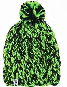 Neff Men's Flurf Beanie - Green/Black, One Size