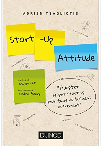 Start-up attitude - Adoptez l'esprit start-up pour faire du business autrement par Adrien Tsagliotis