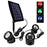 Ankway LED Teichbeleuchtung Solar Solarspots...