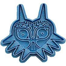 Cuticuter MajoraS Mask The Legend of Zelda Cortador de Galletas, Azul, 8x7x1.5