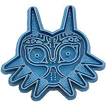 Cuticuter MajoraS Mask The Legend of Zelda Cortador de Galletas, Azul, 8x7x1.5