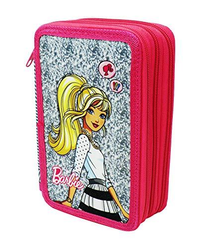 Cucuba® astuccio barbie a tre piani per 43 pezzi - idea regalo