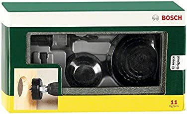 Bosch 11-Piece Holesaw Set (Silver and Black)