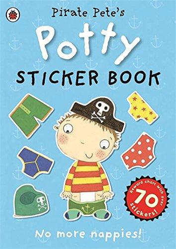 Pirate Pete's Potty sticker activity book (Pirate Pete and Princess Polly) por Ladybird