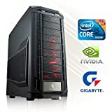 GAMING PC PC24 SLI POWER EDITION INTEL i5-6600K @4x4,00GHz Skylake | 2x nVidia GF GTX 1060 mit...