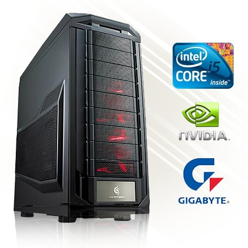 GAMING PC PC24 SLI POWER EDITION INTEL i5-6600K @4x4,00GHz Skylake | 2x nVidia GF GTX 1060 mit 6144MB GDDR5 RAM DX12 im SLI | 16GB DDR4 PC2133 RAM G.Skill | 1000GB Seagate SATA/600 | Gigabyte GA-Z170X-Gaming 5 Mainboard Sockel 1151 | LG DVD-Brenner 24fach | 600Watt Silverstone 80+ Power ATX Netzteil | i7 Gamer PC (Titan Gtx Black)