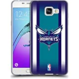 Officiel NBA Gradient De Demi-Teinte Charlotte Hornets Étui Coque en Gel molle pour Samsung Galaxy A5 (2016)