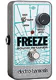 Electro Harmonix Freeze Sound Retainer Pédale pour Guitare électrique Argent