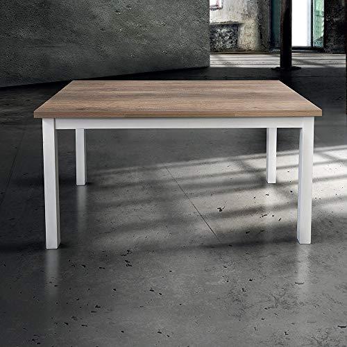 Tavolo Da Cucina 70 X 110 Allungabile.Milanihome Tavolo Da Pranzo Moderno Di Design Allungabile Cm 70 X