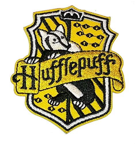 Parche toga Harry Potter bordado Hufflepuff