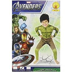Rubie`s - Disfraz infantil de Hulk (881318-M)