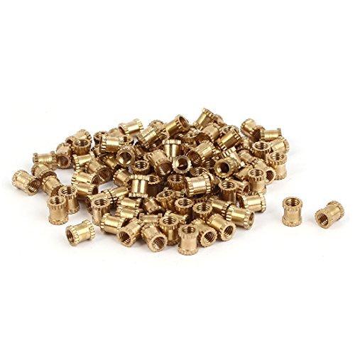sourcingmap-m3-x-5mm-05mm-distancia-latn-cilindro-moleteado-inserto-roscado-incrustado-tuercas-100-p