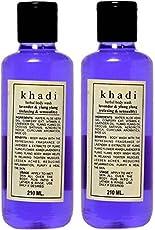 KHADI HERBAL BODY WASH-LAVENDER & YLANG YLANG (420 ML.)