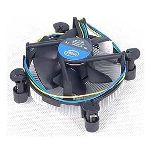 Intel DTC-DAA08 E97378-001 Refroidisseur avec embase en cuivre pour processeur socket 1155 au moins jusqu'à Core i5 2,90 GHz