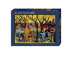 Heye - Heye-29513 - Puzzle Classique - Residents - 2000 Pièces