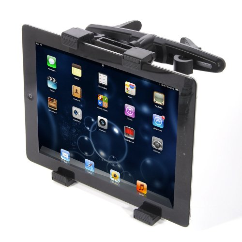 TOOGOO(R) Autoruecksitz -Kopfstuetzen-Halterung Halter fuer Apple iPad 1/2/3/4 Tablet PCs