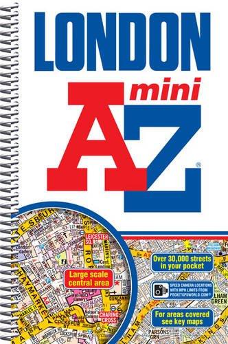 Mini London Street Atlas Cover Image