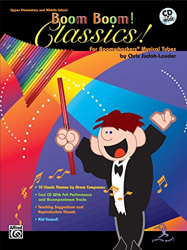 Boom Boom! Classics! For Boomwhackers® Musical Tubes  (incl. CD) -