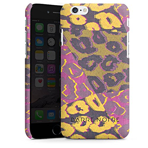 Apple iPhone X Silikon Hülle Case Schutzhülle Leoparden Muster Leopard Premium Case matt