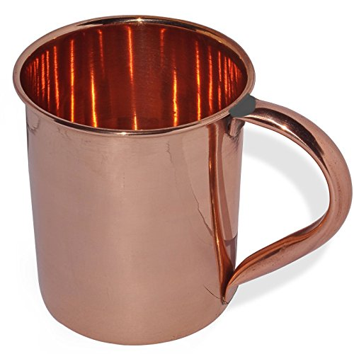 Stylla London pur Moscow Mule Mug Finition laquée, Cuivre, 5.12 x 4.49 x 3.78 cm