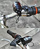 bioings (TM), Sport Sirene Elektrische Horn Passwort Sicherheit Alarm Wasserdicht Bike Bell Diebstahlschutz Fahrrad Zubehör yc050-sz