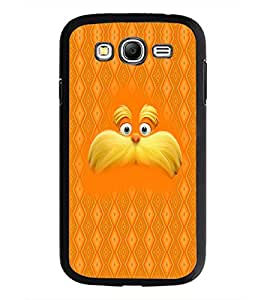 PrintDhaba Mustache D-5053 Back Case Cover for SAMSUNG GALAXY GRAND I9082 (Multi-Coloured)