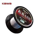Best Bass Fishing Lines - Generic White, 8.0 : 500M KAWA K-BASS Fishing Review