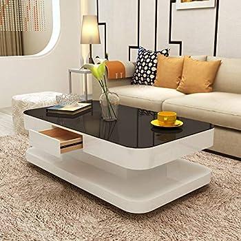 Arctic Coffee Table Grey And White Italian Design Contemporary