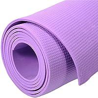 Estera de la yoga de los deportes estera antideslizante de la yoga de la aptitud del medio ambiente grande impermeable ya prueba de polvo, muy conveniente para la gimnasia Pilates, aptitud, gimnasio