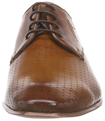 Daniel Hechter 811126021100, Derby homme Marron - Braun (cognac 6300)