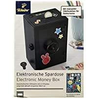 Preisvergleich für Tchibo TCM Sparschwein Tresor mit elektronischem Zählwerk & LC Display Sparen Spardose