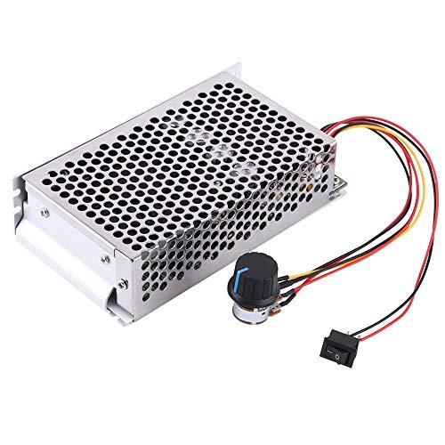 Geschwindigkeitsregler,Speed Controller 10-50 V 100A 5000W DC-Motordrehzahlregler PWM Steuerungsschalter PWM DC-Motorregler Hochstromregler