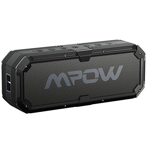 Altoparlanti Bluetooth, Mpow altoparlanti wireless Bluetooth 4.0impermeabile antiurto altoparlanti portatili con enhanced Bass driver da 8W 5200mAh Power Bank 22HRS Playtime chiamate in vivavoce per attività all' aperto