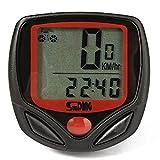 #4: Sunding SD 548 B 14 Function Waterproof Bicycle Computer Odometer Speedometer