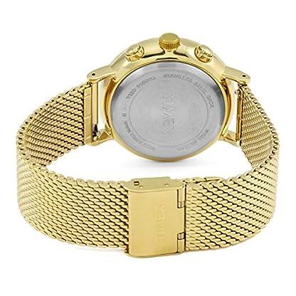 Timex Reloj Cronógrafo para Unisex Adultos de Cuarzo con Correa en Acero Inoxidable TW2R27200