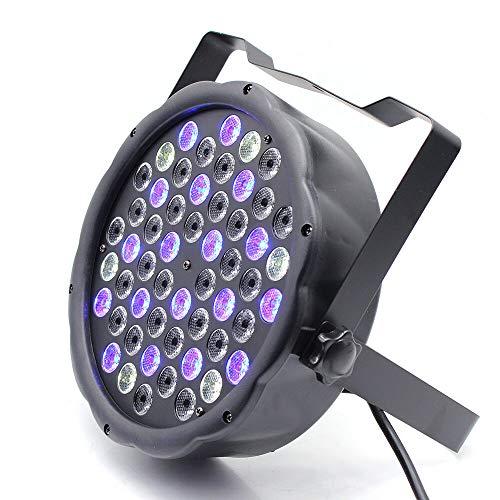 Éclairage de Scène, Eclairage de Scène, Eclairage LED RGBW, Lampe d'extérieur PAR 64 DMX, Fête de Mariage Disco Lampe DJ
