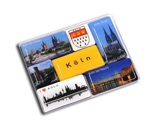 City Souvenir Shop Magnetset Köln, 7-teilig