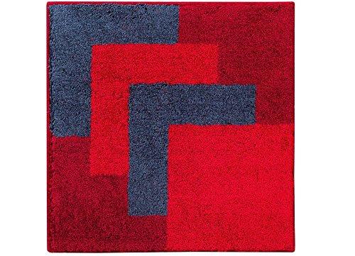 Casilin Graduale Tapis de bain Acrylique Rouge 60 x 60 cm